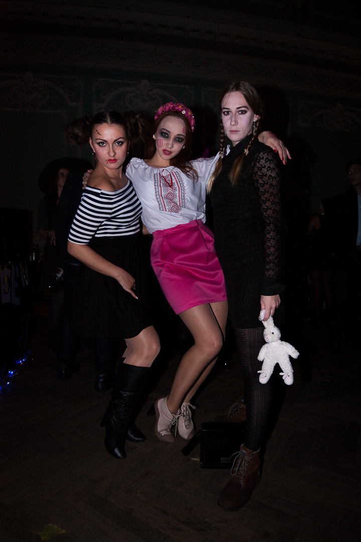 Sunday Halloween Night Одесса 2014