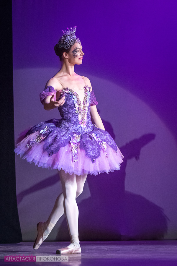 The image of the fairy Lilac The Nutcracker Ballet