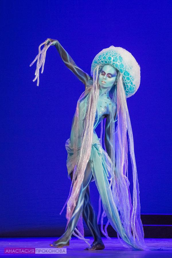 Образ морской медузы