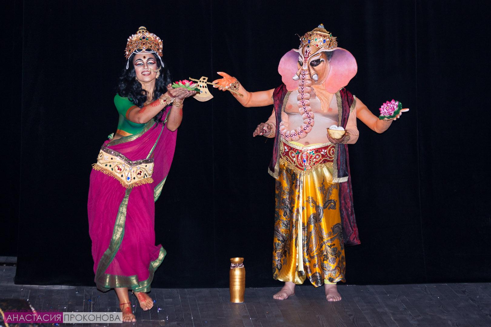 Ганеш и Лакшми. Индийский пантеон.