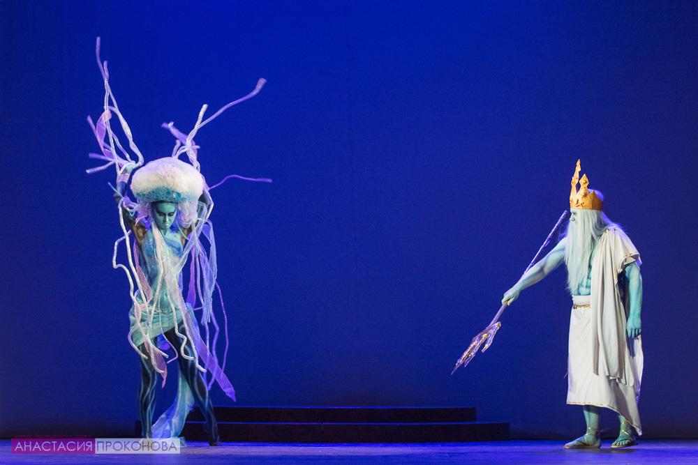 Образы Посейдона и морской  медузы
