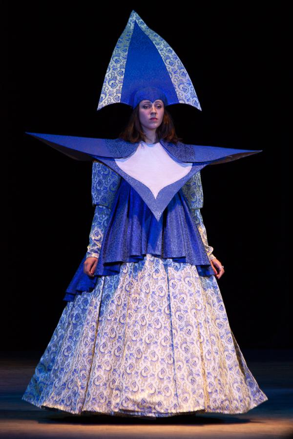 The image of Snow Queen / Marena. Diploma artist dresser. Odessa Theater School. graduate 2015