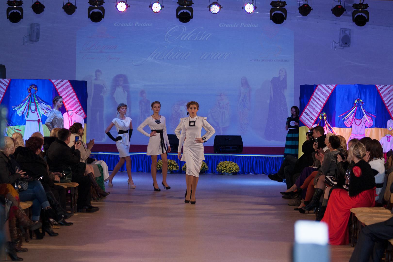 TANITA & VIKTORY. Модный показ на Odessa fashion wave.2014.