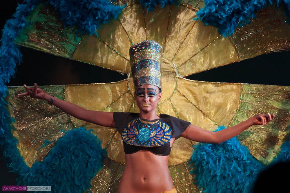 «Египетский круг» для бразильского карнавала