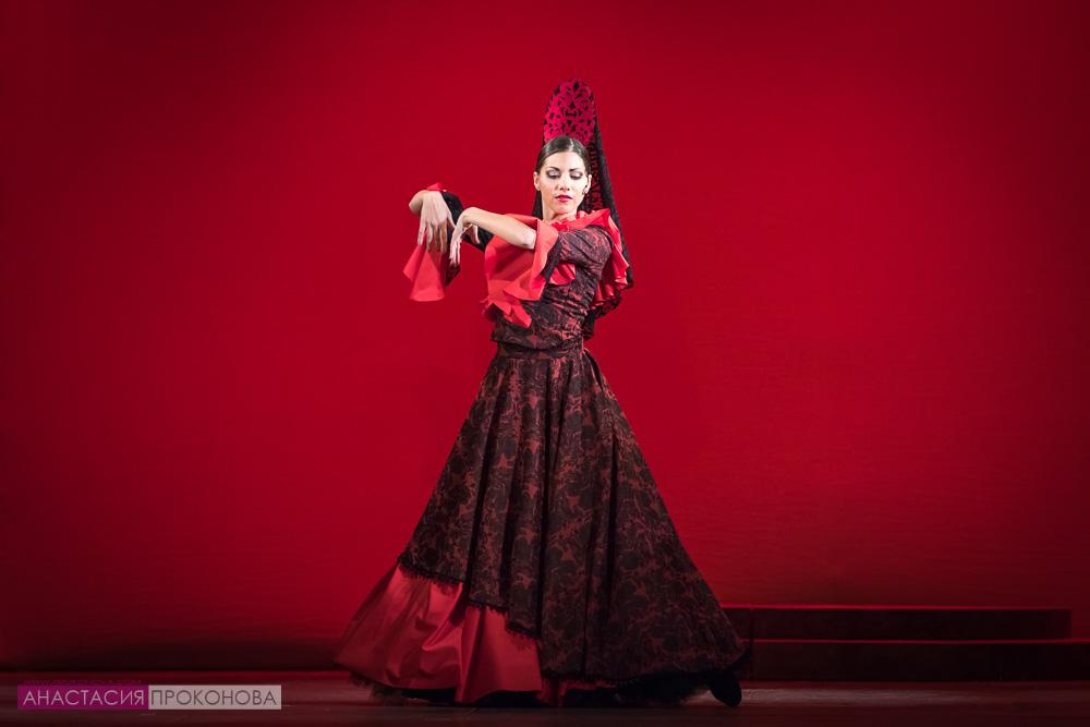Испанская танцовщица