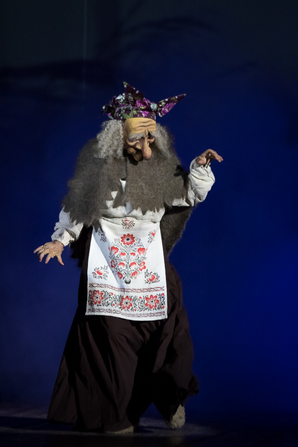 The image of the wicked witch. Russian epic