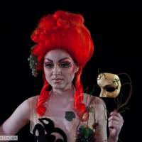 Photo report exam makeup and costume drama school. 2014 Part I
